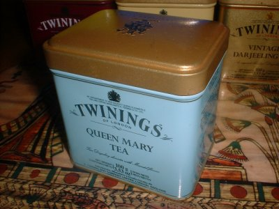 Twinings Queen Mary Tea. Дарджилинг с мускатным орехом. Один из лучших черных чаев, нам доступных