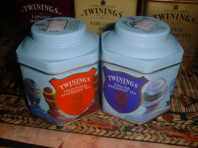 Twinings Traditional Afternoon & English Breafast Tea. Приятный подарочный набор